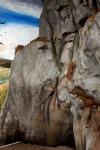 rock wall, final