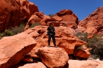 working in Red Rocks National Conservation Area, (BLM), Nevada