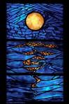 'Moon Over Waves'Window