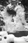 BashBish Falls (frozen in winter, Great Barrington, Massachusetts)