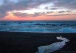 Beach-sky mirror (Beach #2, Point Reyes Nat'l Seashore,CA)