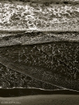 beach surf (seen from high cliff, Fort Funston GGNRA, CA)