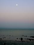 Full moon overBay