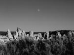 Moon over tufa