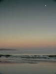 moon over eveningwaves