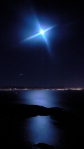 full moon over SFBay